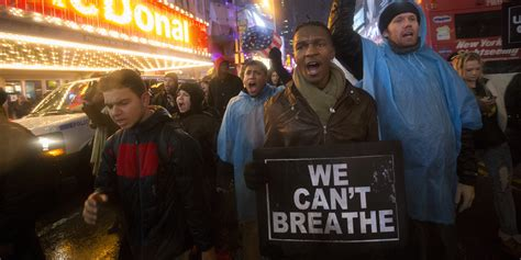 Eric Garner Said 'I Can't Breathe' 11 Times -- Now