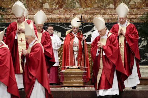 At Funeral, Pope Prays For 'Merciful' Final Judgment For