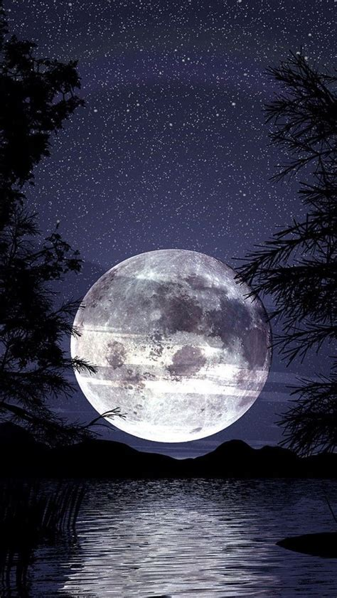 Beautiful Moon, Real And Art Pictures Gallery | Take a