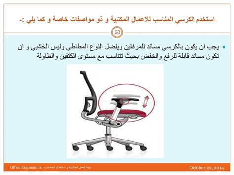 PPT - Office Ergonomics and Safety Use of Computers