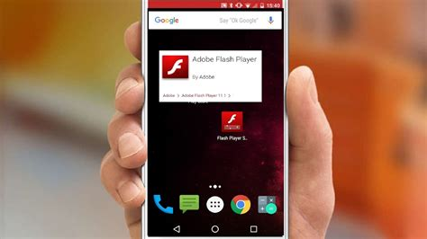 Adobe Flash Player Download Available on Android Lollipop