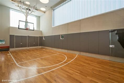 Lincoln Park house with indoor basketball court on market