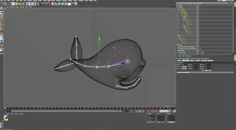Rigging and Animating Whaley in Cinema 4d - CGMeetup